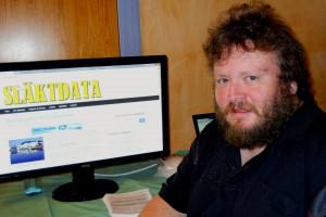 Från Släktdata fanns förutom Håkan Andersson (bilden) Niels Hegge och Birgitta Krantz