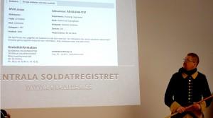 Mattias tipsar om Centrala soldatregistret
